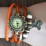 Náramkové hodinky Retro Butterfly