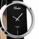 Náramkové hodinky Quartz Dalas Black