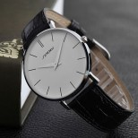 Náramkové hodinky Sinobi Relogio Masculino White