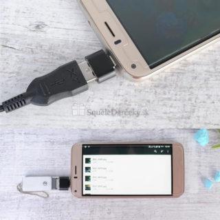 OTG adaptér z USB na Micro USB