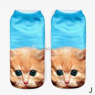 Sexy dámske ponožky mačičky (rôzne druhy)