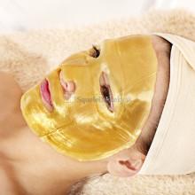 Zlatá kolagénová hydratačná a omladzujúca maska na tvár