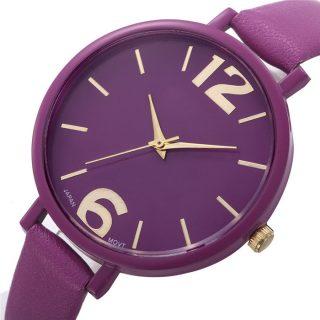 Náramkové hodinky Geneva Merveilleux Purple