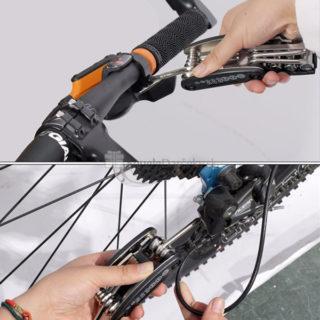 Náradie na bicykel – multikľúč (16 nástrojov)