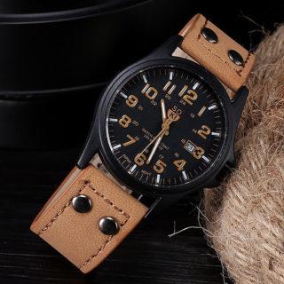 Náramkové hodinky Military Sport Khaki 3