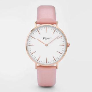Náramkové hodinky SKstar Exclusive Pink