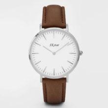Náramkové hodinky SKstar Exclusive Brown