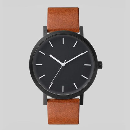 Náramkové hodinky Hores Movement Dark Brown