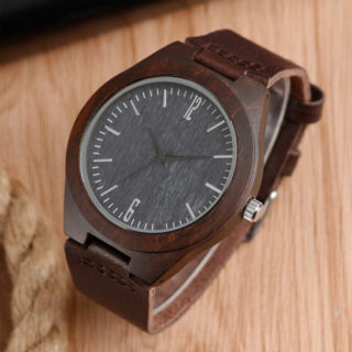 Náramkové hodinky Wooden Genuine Preston