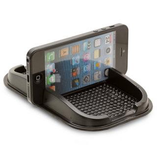 Protišmyková podložka s držiakom do auta na mobil, kľúče a iné