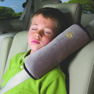 Ochranný vankúš pre deti do auta na bezpečnostný pás