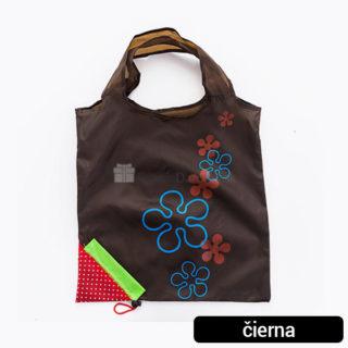 Ekologická nákupná skladacia taška Jahoda (rôzne farby)