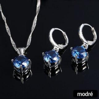 Náhrdelník a náušnice – Diamond (set)