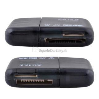 Čítačka kariet USB 2.0 All in One (SD, microSD, M2, MS Duo)